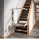 Plateforme élévatrice OBLIK pour escalier droit