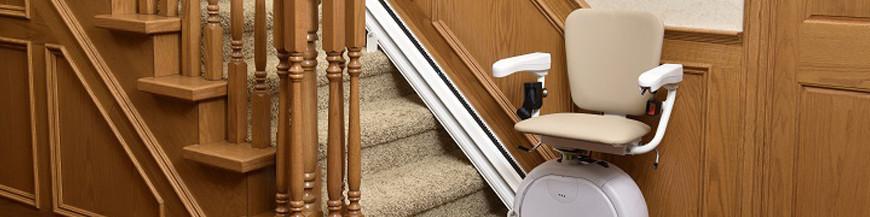 Siège monte-escalier droit